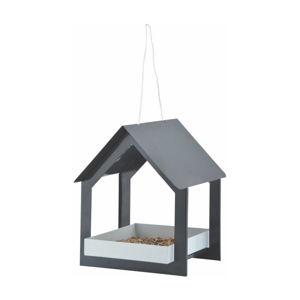 Antracitovosivá vtáčia búdka Esschert Design