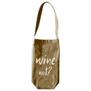 Obal na víno či šampanské Linen Couture Wine Not, výška 30 cm