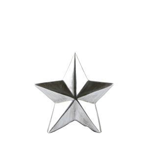 Dekoratívna soška KJCollection Star Silver, výška 12 cm
