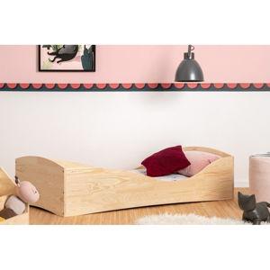 Detská posteľ z borovicového dreva Adeko Pepe Elk, 90 x 160 cm