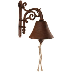 Liatinový nástenný zvonček Esschert Design Voluta