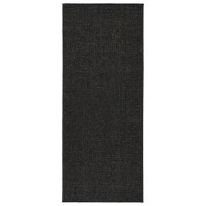 Čierny obojstranný koberec Bougari Miami, 80×150 cm