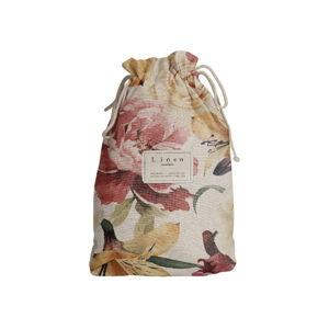 Cestovný vak Linen Couture Spring Flowers, dĺžka 44 cm