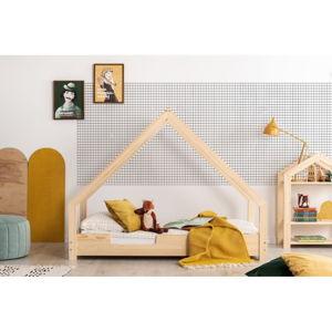Domčeková detská posteľ z borovicového dreva Adeko Loca Cassy, 90 x 190 cm