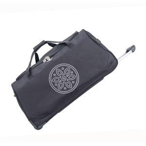 Čierna cestovná taška na kolieskach GERARD PASQUIER Miretto, 45 l