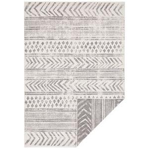 Sivo-krémový vonkajší koberec Bougari Biri, 160 x 230 cm