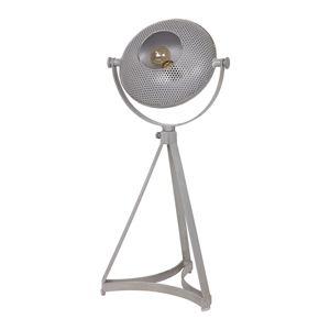 Sivá stolová lampa BePureHome Blown